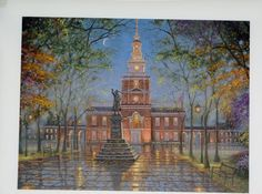 Robert Finales Giclee Original Oil Painting Art Print Quality Canvas Church   eBay