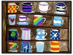 have everyone design a mug.