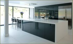 High Gloss Lacquer Cabinet Doors