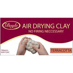 Boyle 500g Terracotta Air Dry Clay