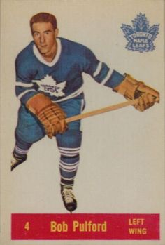 Career highlights, stats and hockey cards for Bob Pulford. Pulford played his NHL career with the Toronto Maple Leafs and Los Angeles Kings. Hockey Cards, Baseball Cards, Los Angeles Kings, National Hockey League, Toronto Maple Leafs, Boston Bruins, Nhl, Trading Cards, Sports