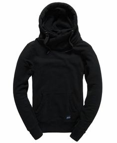4bf984da Superdry men's Crossover hoodie. A twist on the classic overhead hoodie  featuring a high cross