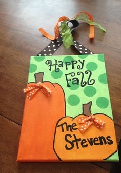 Fall Craft for my babies