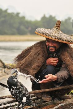 Fisherman and Cormorants, Guilin, China