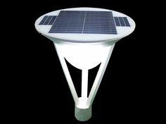 10W High Brightness Solar Yard Lamp  | 18W solar panel, 3m pole