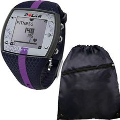Polar FT7F 90048735 Heart Rate Monitor with Cinch Bag Blue Lilac * Click image for more details.