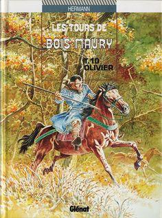 Les tours de Bois-Maury -10- Olivier  -  1994
