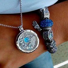Blue Pandora <3 #pandorajewelry #PandoraJewelry