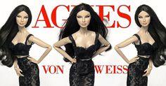 WEBSTA @ shuiimedina - ✨ Agnes Von Weiss ✨#AgnesVonWeiss#FashionRoyalty #blackoufit #IntegrityToys #dollstagram #dollcollector #fashiondolls #FR#frdoll #JasonWu #blackdress #beautyshoot