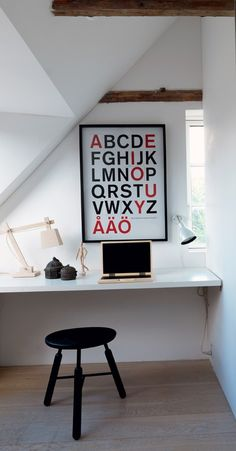 Office Space in Renovated Farmhouse in Denmark