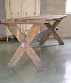 Large 19th century Italian Farm Table