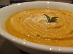 Butternut Squash And Roasted-Garlic Bisque Recipe - Food.com