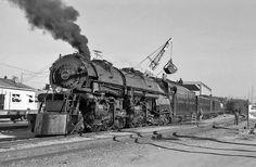 NW 1218 Norfolk & Western Steam 2-6-6-4 loading coal