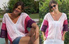 Shirt LOVELY - Dieses Shirt ist ein echter Hingucker –ganz gleich ob unifarben oder mit Farbverlauf. Luftig und elegant zugleich! In deinen Lieblingsfarben kreierst du dir ein ganz besonderes Einzelst