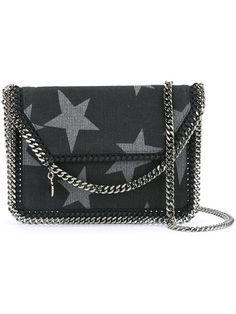 STELLA MCCARTNEY 'Falabella Shaggy Deer' Shoulder Bag. #stellamccartney #bags #shoulder bags #lining #cotton #