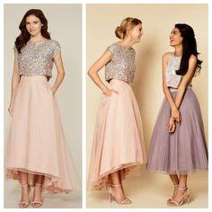 Bridesmaid Prom Dresses,Tea Length Prom Dresses, Party Prom Dresses, V – SposaDesses