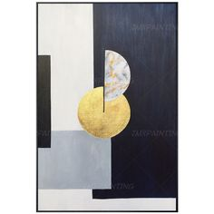 Abstract Geometric art Acrylic Painting On Canvas Original art black and white deep blue Extra Large Wall art Pictures Gold leaf home Decor Diy Canvas Art, Acrylic Painting Canvas, Painting Frames, Painting Prints, Wall Art Prints, Abstract Geometric Art, Extra Large Wall Art, Cool Paintings, Wall Art Pictures