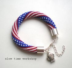 "..slow time workshop..: Bransoletka ""Americana"""