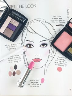 Spring makeup inspiration: a perfectly pink collection, French Ballerine. #LancomeSpring