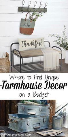 Are you a Fixer Upper fanatic? Do you wish Joanna Gaines would come and decorate. - Are you a Fixer Upper fanatic? Do you wish Joanna Gaines would come and decorate your house? Vintage Industrial Decor, Vintage Farmhouse Decor, Country Farmhouse Decor, Farmhouse Chic, French Country Decorating, Farmhouse Design, Vintage Home Decor, Farmhouse Ideas, Industrial Bedroom