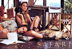 ralph-lauren-safari-advertisement-spring-1995-bridget-hall-. Ralph_Lauren_Collection_Fall_2006_Advertisement_Valentina_Zeliaeva_Natasha_Poly_1