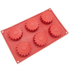 Freshware 6-Cavity Daisy Flower Silicone Mold and Baking Pan by Freshware, Inc, http://www.amazon.com/dp/B008HNNMJ8/ref=cm_sw_r_pi_dp_ccc6rb0EP922R