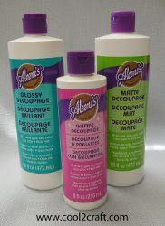 Aleene's Decoupage Product Assortment