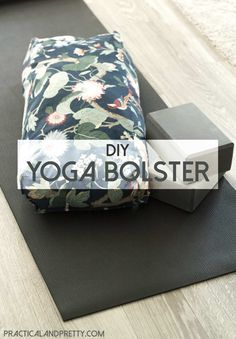 This DIY yoga bolster is a must if you're a true yogi! I used it so much in prenatal yoga and it was also nice in yin! Yoga Prenatal, Restorative Yoga, Vinyasa Yoga, Yoga Challenge, Chakra Yoga, Yoga Routine For Beginners, Yoga Bolster, Fitness Video, Bedtime Yoga