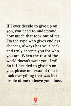 I'm the most generous of people--I will give you multiple chances. BUT, if you fuck me over one more time after being given chance after chance--You will be removed from my life forever. Now Quotes, Breakup Quotes, Love Quotes For Him, True Quotes, Words Quotes, Wise Words, Quotes To Live By, Motivational Quotes, Inspirational Quotes