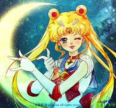 Sailor Moon  セーラーマーズ by ヨンヨン on pixiv