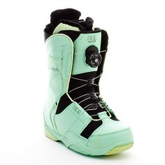 Ride Sash Boa Coiler Womens Snowboard Boots - Love the color! Not sure about the quality of Ride boots.