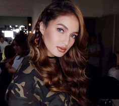 for yesterday makeup by styled by hair by yours truly thanks Sarah Lahbati, Filipina, Actresses, Actors, Makeup, Instagram Posts, Hair, Style, Female Actresses