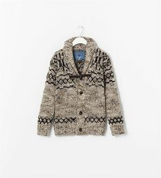 ZARA - KIDS - KNITTED CARDIGAN