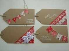 Image result for home made christmas gift tags