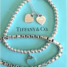 Clean Tiffany's jewelry quick and easy! I learned this from a customer at work! Use a palm full of baking soda, make a paste with a bit of hot water, and rub it in. Rinse with hot water and dry! Comes out looking like new!