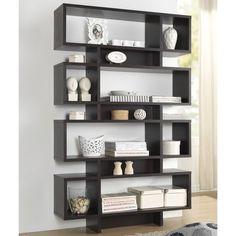 Baxton Studio Ronan Dark Brown/ Espresso Modern Storage Shelf - Overstock™ Shopping - Great Deals on Baxton Studio Media/Bookshelves