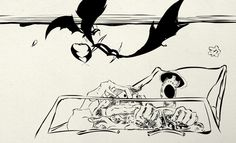 Among his many accomplishments, Ralph Steadman illustrated Hunter S. Thompson's 1971 novel, Fear