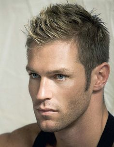 Marco Dapper - this dirty blonde fohawk makes him closer to being Armie