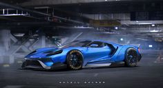 Ford GT with Liberty Walk body kit