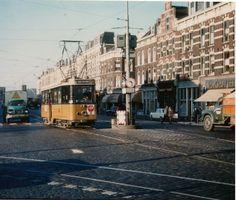 Rotterdam Noordereiland - Van der Takstraat. Jaren 1960/'70