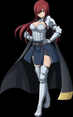 Erza Scarlet by on DeviantArtYou can find Erza scarlet and more on our website.Erza Scarlet by on DeviantArt Fairy Tail Fotos, Anime Fairy Tail, Fairy Tail Funny, Fairy Tail Art, Fairy Tail Love, Fairy Tail Ships, Fairy Tales, Fairy Tail Family, Fairy Tail Girls