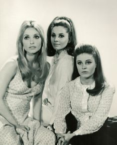 #Sixties | Sharon Tate, Barbara Parkins and Patty Duke, stars of Valley of the Dolls ,1967