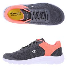 38d37a31a0b Women s Gusto Performance Cross Trainer. Payless. GustoCoralSneakersLace GreyChampion ...