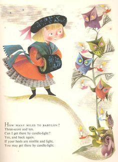 Mother Goose Nursery Rhymes Illustrated By Esme Eve