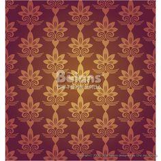 레드 브라운색 꽃 문양 패턴. 한국 전통문양 패턴디자인 시리즈. (BPTD020189) Red Brown Colors Flower Pattern Design. Korean traditional Pattern Design Series. Copyrightⓒ2000-2014 Boians.com designed by Cho Joo Young.