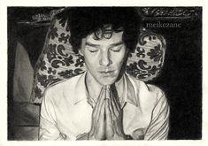 Sherlock - Benedict Cumberbatch by MeikeZane.deviantart.com on @DeviantArt