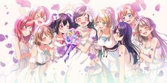 Looks like a wedding for Nozomi