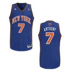 c49c9e865 adidas Youth Knicks Carmelo Anthony Revolution 30 Swingman Road Jersey New  York Knicks