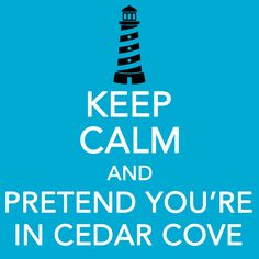 Loving the Hallmark Channel's Cedar Cove, based on the books by Debbie Macomber!