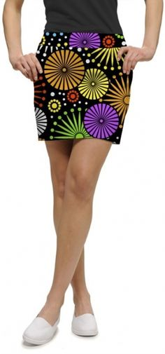 Check out our Ferris Wheels Loudmouth Ladies Golf Skort! Find stylish golf apparel at #lorisgolfshoppe Click through to own this skort!